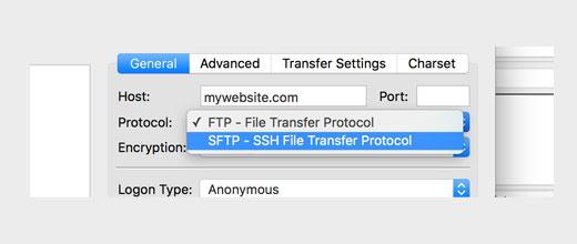 sftp - 11 دلیل عمده هک سایت های وردپرس | راه های جلوگیری از هک سایت وردپرس
