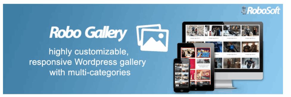 Gallery by Robo – Responsive Image Photo Gallery   WordPress.org  - 15 افزونه رایگان وردپرس برای ساخت گالری حرفه ای