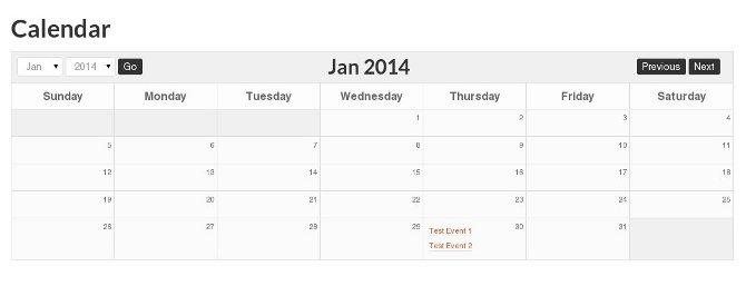 calendar styled - بهترین افزونه های تقویم وردپرس در سال 2020