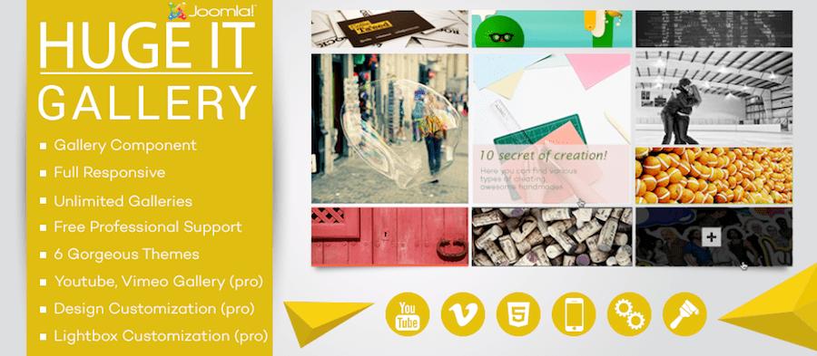 huge it joomla gallery - 15 افزونه رایگان وردپرس برای ساخت گالری حرفه ای