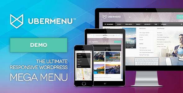 UberMenu Preview 2tm - بهترین افزونه های مگامنو برای وردپرس در 2018