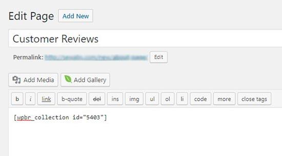 addshortcode - نحوه نمایش نظرات گوگل، فیس بوک و یلپ در وردپرس