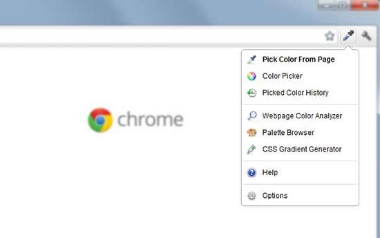 colorzilla - بهترین افزونه های گوگل کروم برای وردپرس