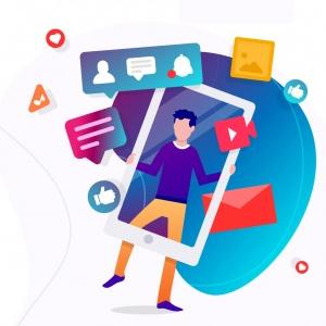 icon to social media wordpress - آموزش اضافه کردن آیکون رسانه های اجتماعی به منوهای وردپرس با افزونه Menu Image