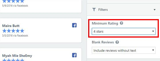 reviewfilters - نحوه نمایش نظرات گوگل، فیس بوک و یلپ در وردپرس