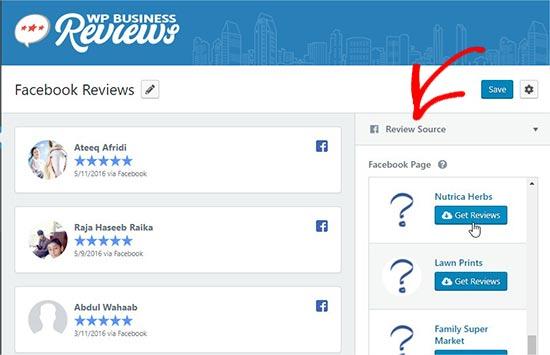 reviewsource - نحوه نمایش نظرات گوگل، فیس بوک و یلپ در وردپرس