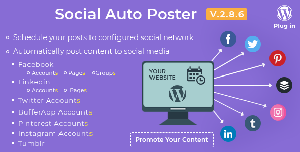 social auto poster banner - بهترین افزونه های اشتراک گذاری در شبکه های اجتماعی وردپرس