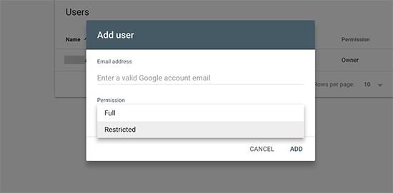access - 15 نکته موثر آموزش کنسول جستجوی گوگل | گوگل وبمستر تولز برای افزایش رتبه سایت