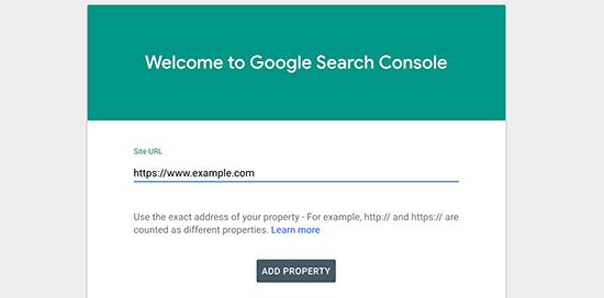 addyoursite - 15 نکته موثر آموزش کنسول جستجوی گوگل | گوگل وبمستر تولز برای افزایش رتبه سایت