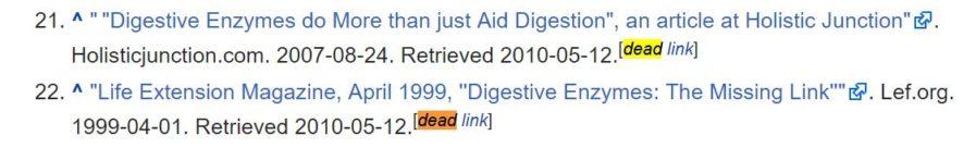 dead link 897x136 - بهترین ابزار بررسی سئو سایت | کنسول جستجو گوگل و ابزار Google Keyword Planner