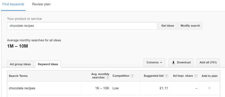 find keywords 897x389 - بهترین ابزار بررسی سئو سایت | کنسول جستجو گوگل و ابزار Google Keyword Planner