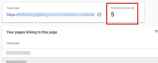 internallinks - 15 نکته موثر آموزش کنسول جستجوی گوگل | گوگل وبمستر تولز برای افزایش رتبه سایت