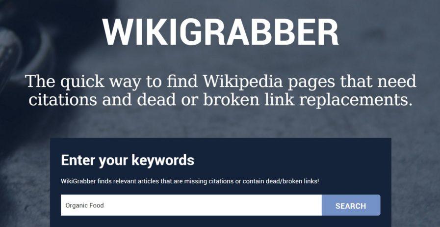wikigrabber 897x462 - بهترین ابزار بررسی سئو سایت | کنسول جستجو گوگل و ابزار Google Keyword Planner
