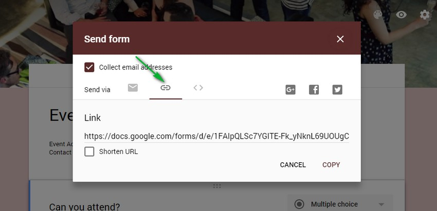 google form url embed google form wordpress - درج فرم گوگل در وردپرس | نحوه نمایش گوگل فرم Google Forms