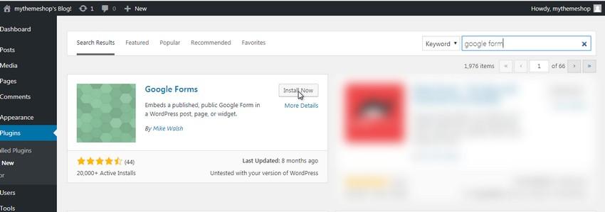 install google forms plugin embed google form wordpress - درج فرم گوگل در وردپرس | نحوه نمایش گوگل فرم Google Forms
