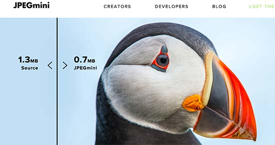 jpegmini - آموزش بهینه سازی تصاویر وردپرس و کاهش حجم عکس برای سایت