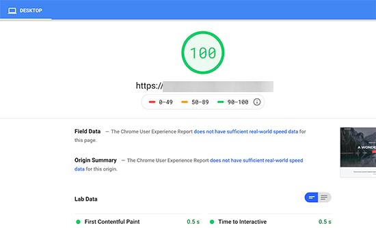 perfect score - رفع خطای Render Blocking JavaScript CSS در Google PageSpeed