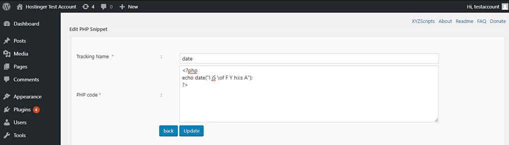 php code add1 - نوشتن کد php در برگه وردپرس یا نوشته جدید - افزونه کد php وردپرس