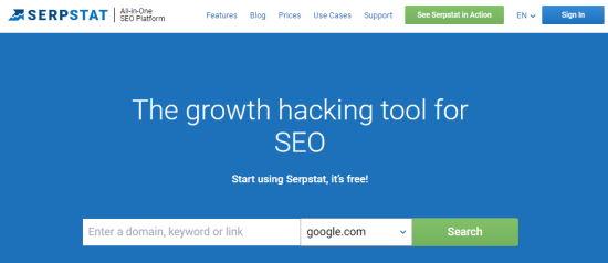 serpstat keywords - نحوه انتخاب کلمات کلیدی مناسب + بررسی رتبه کلمه کلیدی در گوگل