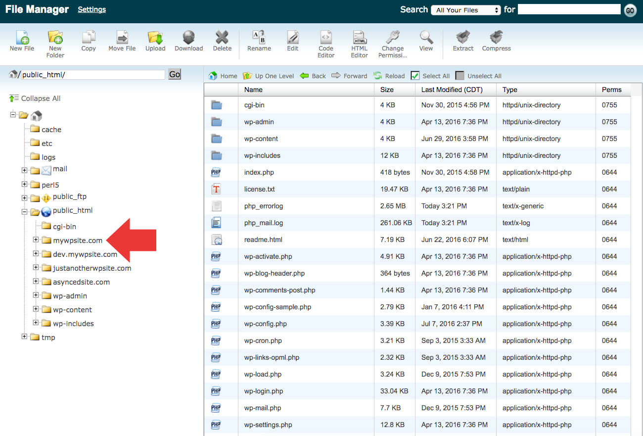 wordpress directory - آموزش انتقال وردپرس به دامنه جدید | تغییر دامنه سایت