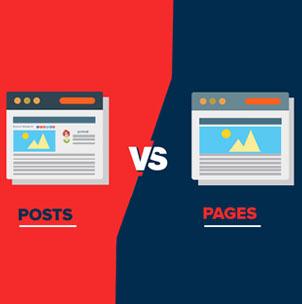 wordpress posts vs pages main20 - تفاوت نوشته و برگه در وردپرس چیست؟ تفاوت پست Post و صفحه Page