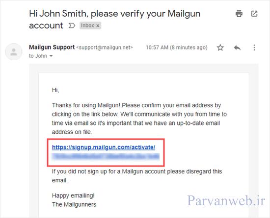 25 1 - حل مشکل ارسال نشدن ایمیل در وردپرس + ارسال ایمیل وردپرس با سرور SMTP رایگان