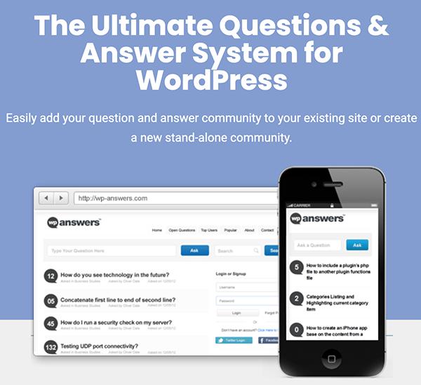 WP Answers - بهترین افزونه پرسش و پاسخ وردپرس + مقایسه 6 افزونه سوال و جواب