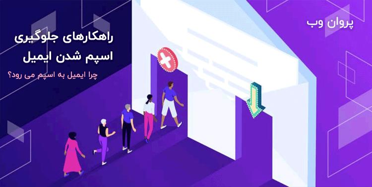 span emails in website - جلوگیری از اسپم شدن ایمیل ها | رفع بلاک و اسپم ایمیل سایت