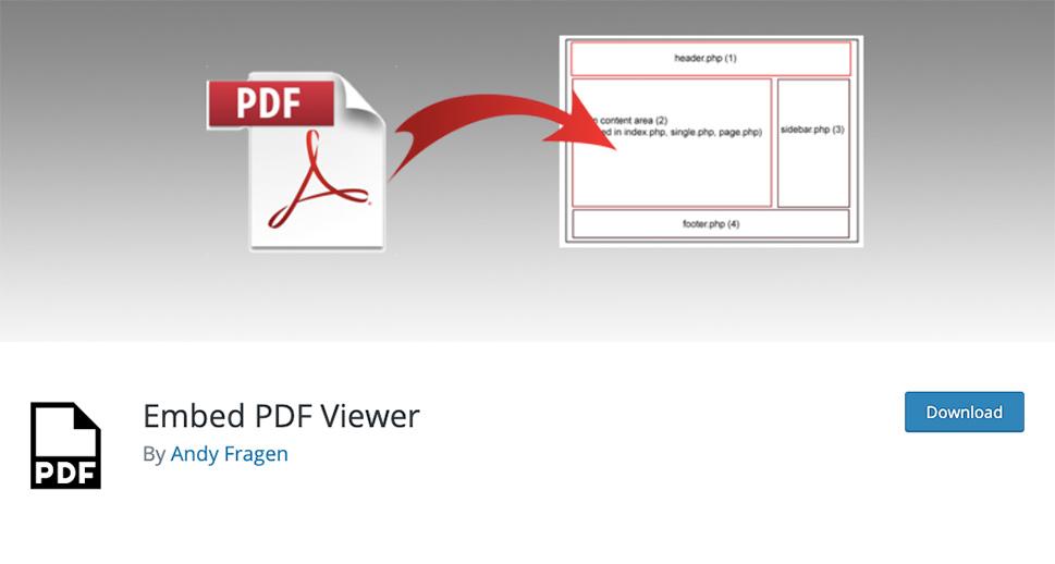 7 1 - بهترین افزونه های PDF Viewer وردپرس | نمایش آنلاین فایل پی دی اف