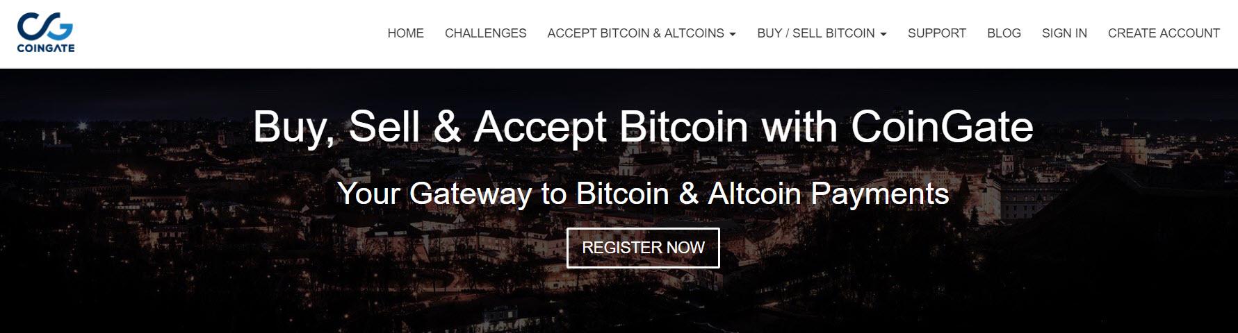 CoinGate - درگاه پرداخت با بیت کوین Bitcoin و ارزهای دیجیتال در وردپرس