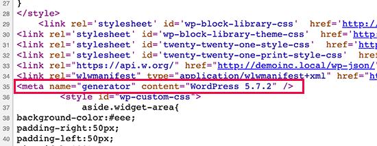 wp version default - آموزش حذف نسخه وردپرس WordPress Version Number - مخفی کردن ورژن